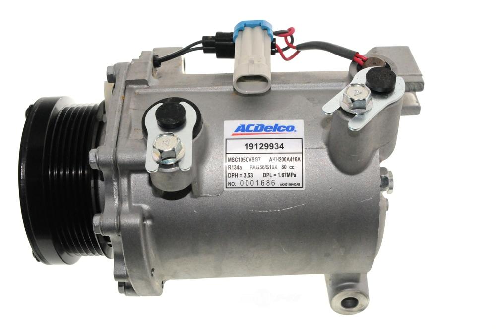 ACDELCO OE SERVICE CANADA - A/C Compressor - DCG 15-21570
