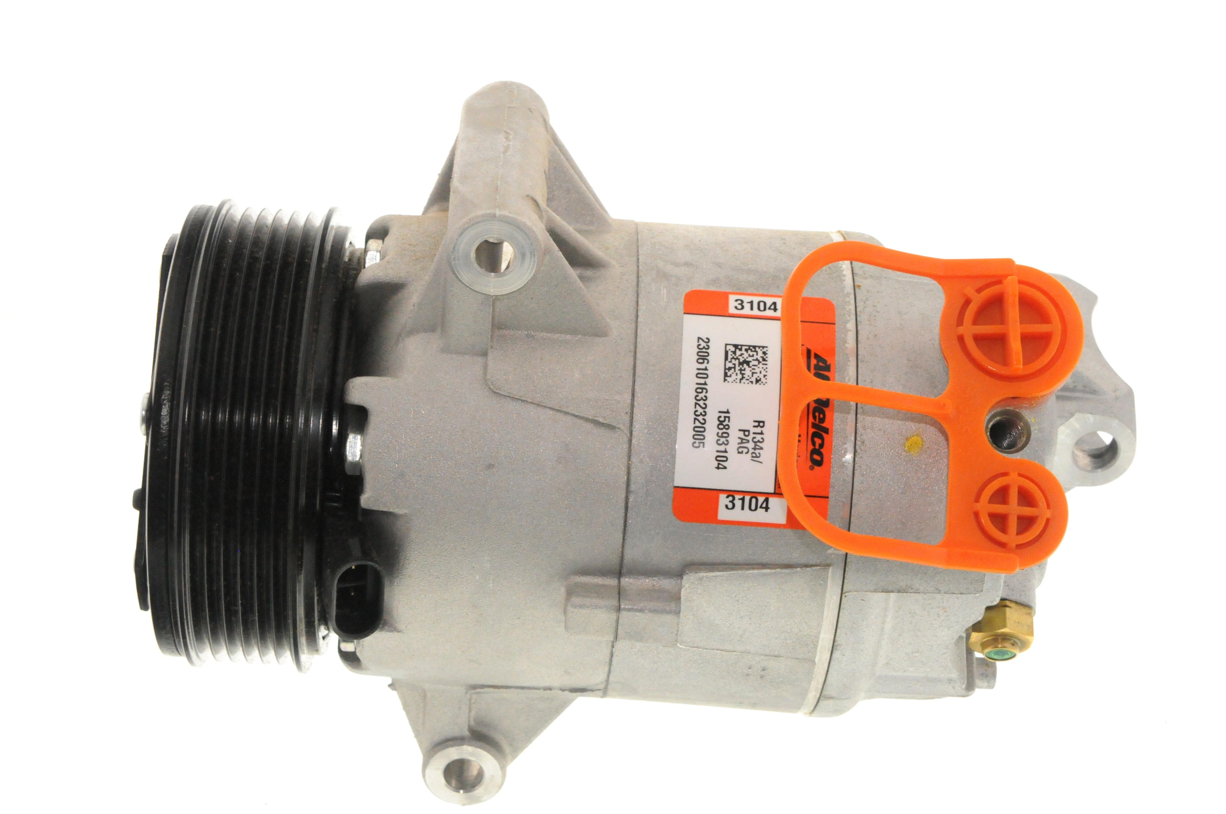 ACDELCO GM ORIGINAL EQUIPMENT - A/C Compressor and Clutch - DCB 15-21589