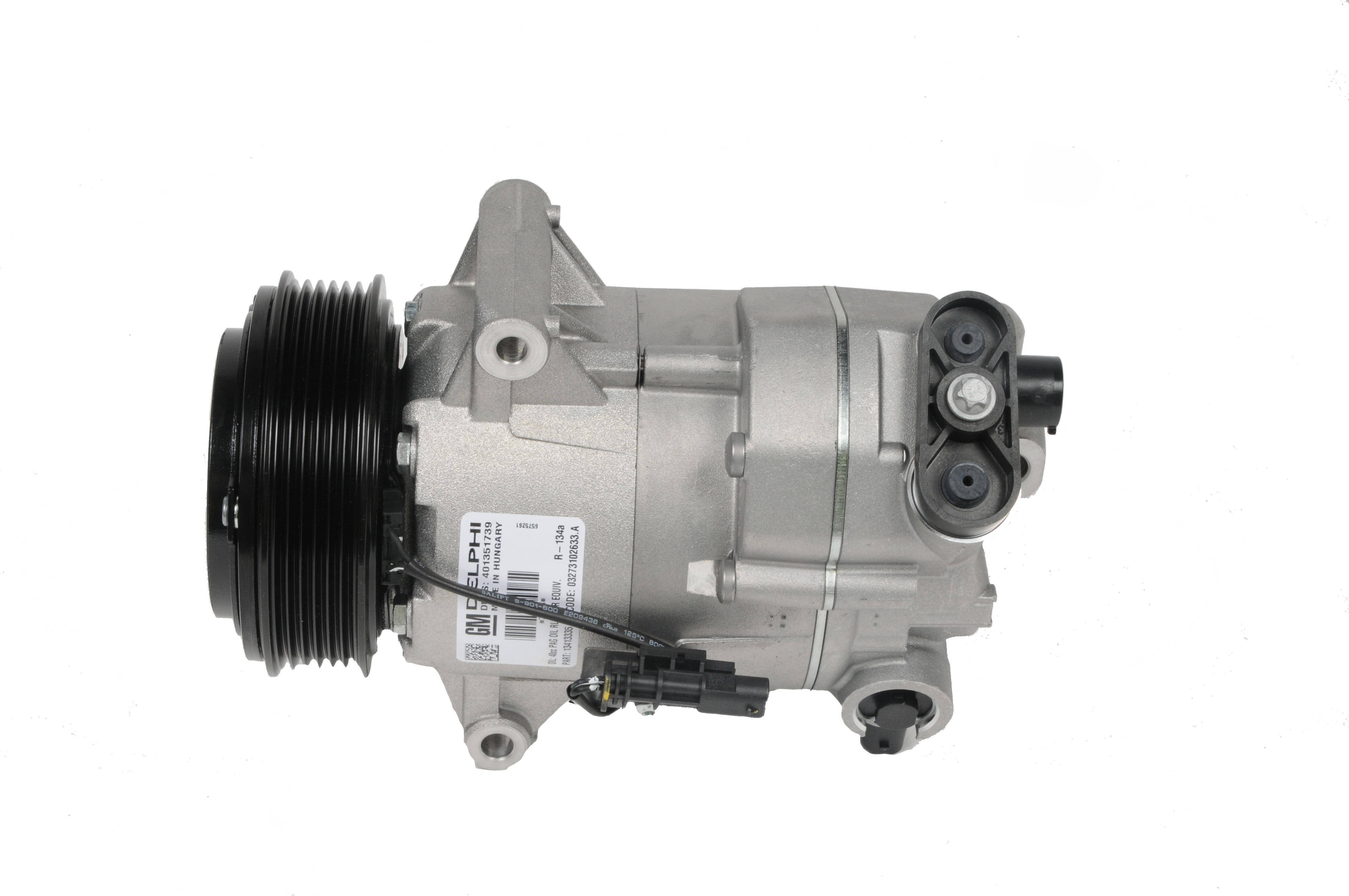 ACDELCO GM ORIGINAL EQUIPMENT - A/C Compressor and Clutch - DCB 15-22291