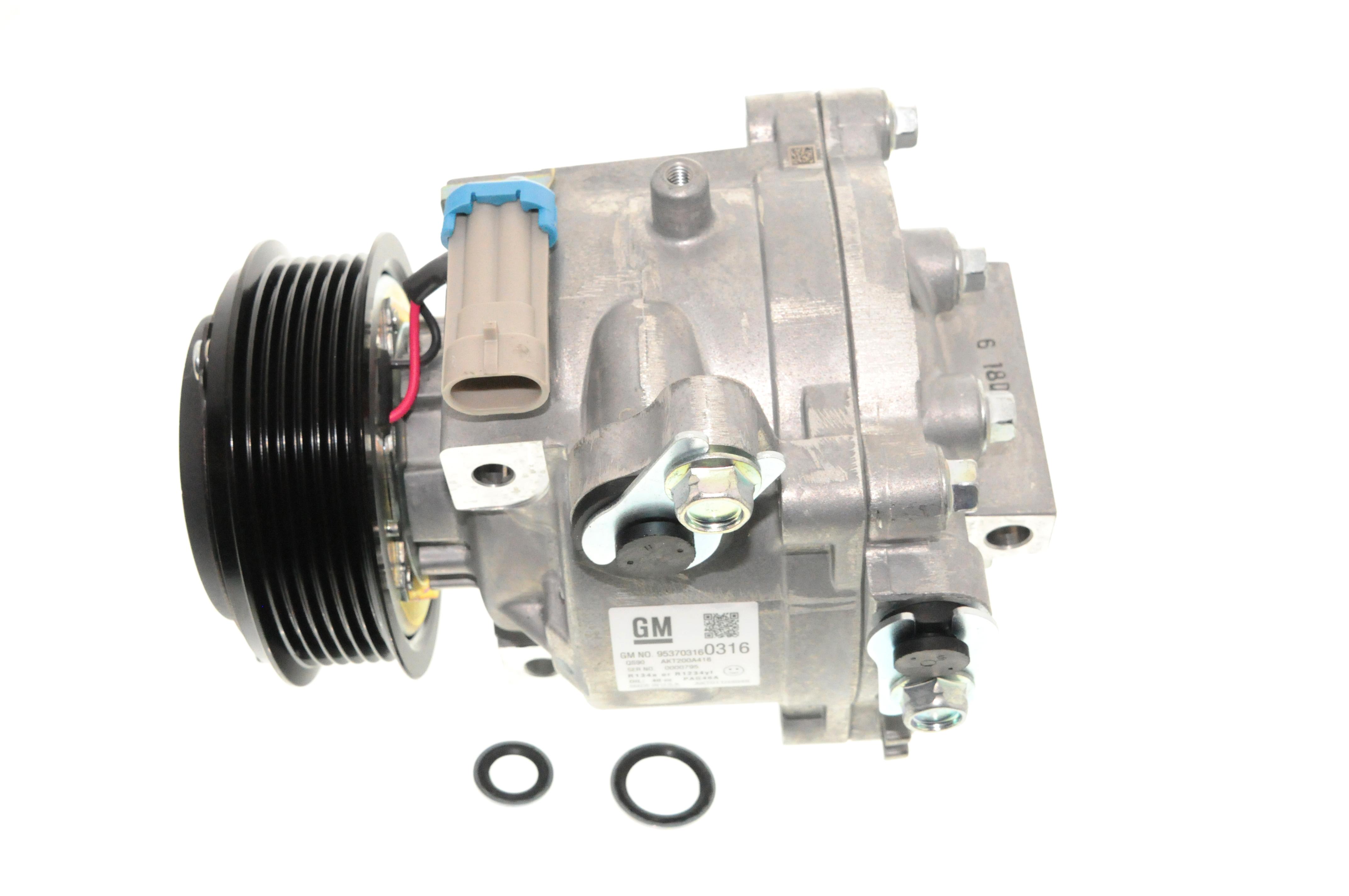 ACDELCO GM ORIGINAL EQUIPMENT - A/C Compressor and Clutch - DCB 15-22301