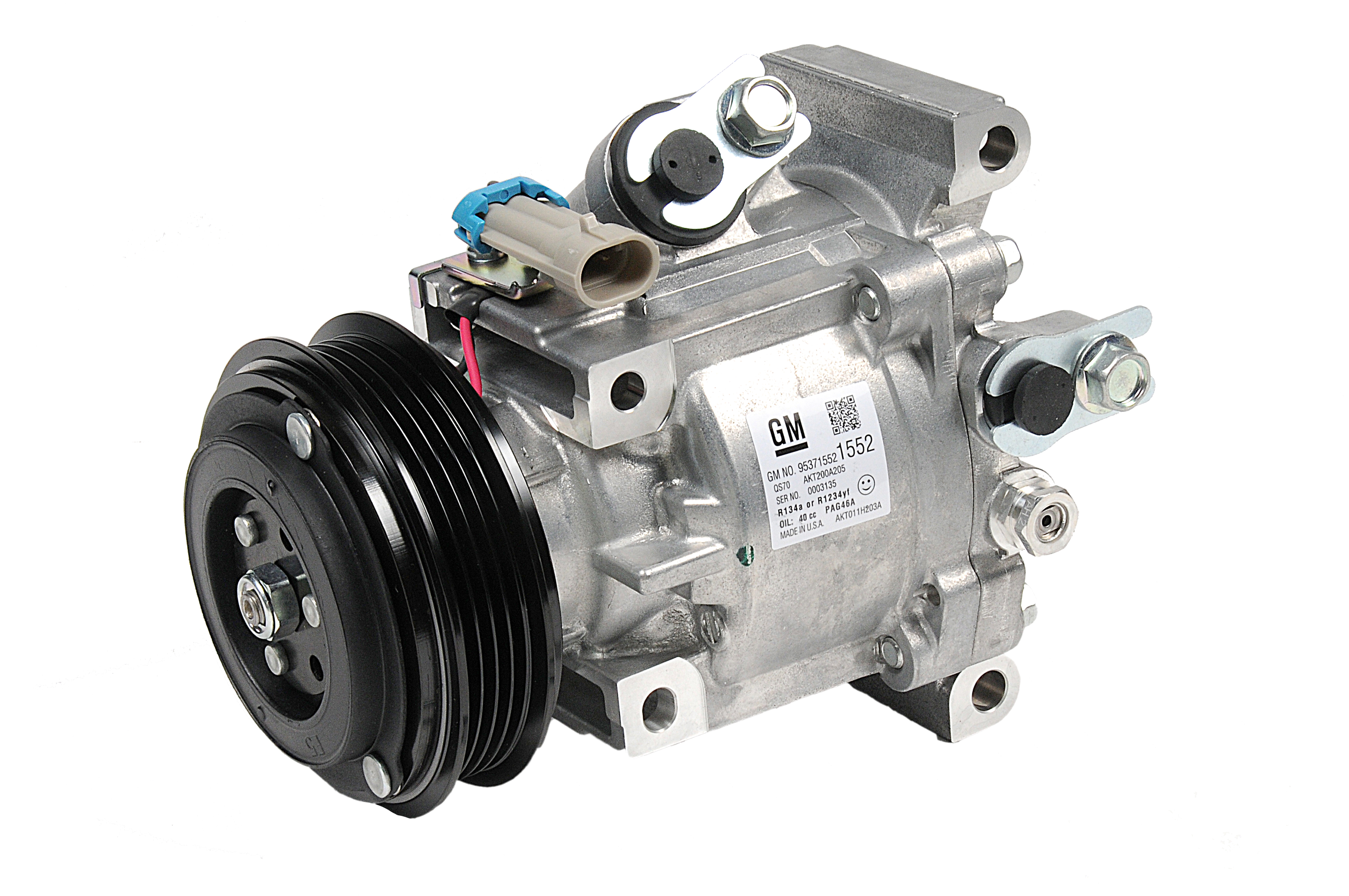 ACDELCO OE SERVICE - A/C Compressor & Clutch - DCB 15-22306