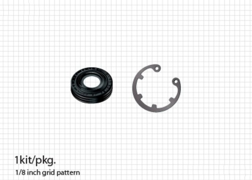ACDELCO OE SERVICE - A/C Compressor Shaft Seal Kit - DCB 15-31231