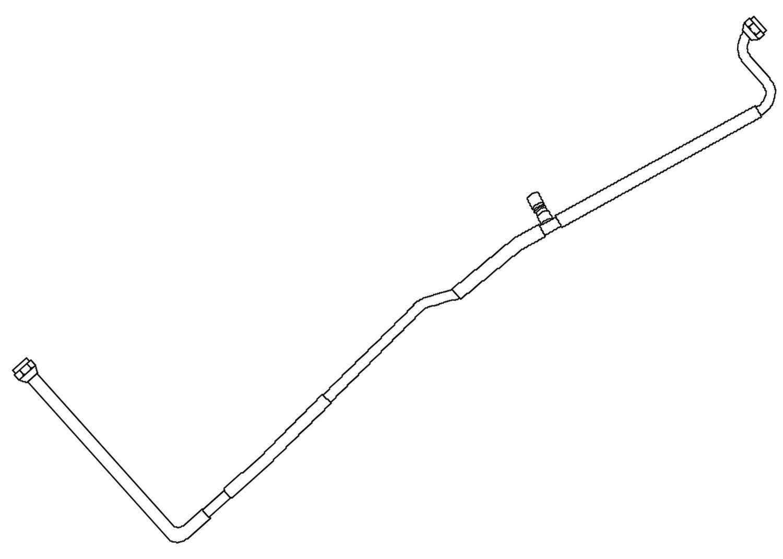 ACDELCO GM ORIGINAL EQUIPMENT - A/C Evaporator Core Tube - DCB 15-33061