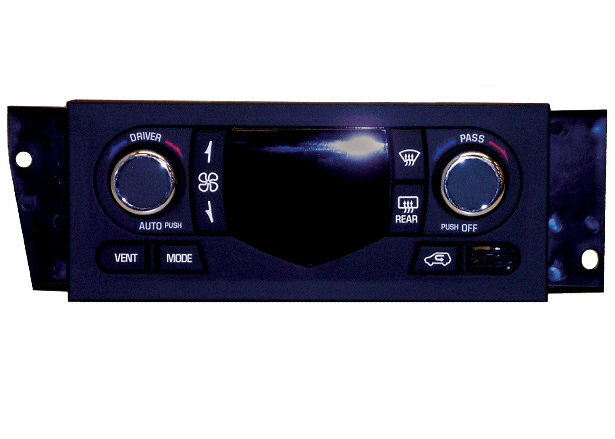 ACDELCO OE SERVICE - Heater & AC Control - DCB 15-72919