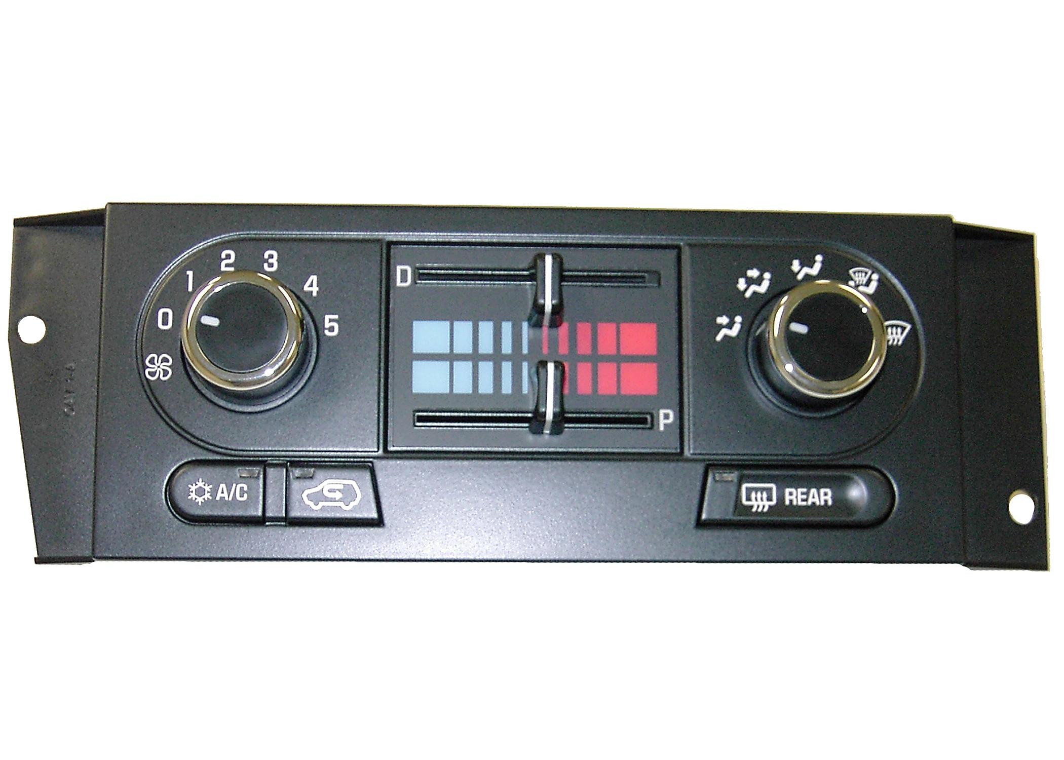 ACDELCO OE SERVICE - Heater & AC Control - DCB 15-73532