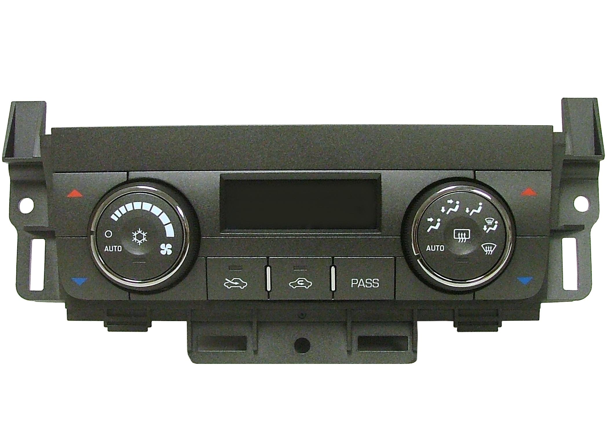 ACDELCO OE SERVICE - Heater & AC Control(w/Rear Window Defog Switch) - DCB 15-73612
