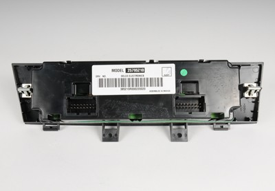 ACDELCO OE SERVICE - Heater & AC Control(w\/Rear Window Defog Switch) - DCB 15-73795