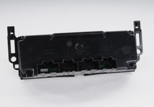 ACDELCO OE SERVICE - HVAC Heater Control Unit - DCB 15-74175