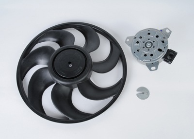 ACDELCO GM ORIGINAL EQUIPMENT - Engine Cooling Fan Motor Kit (Left) - DCB 15-80654