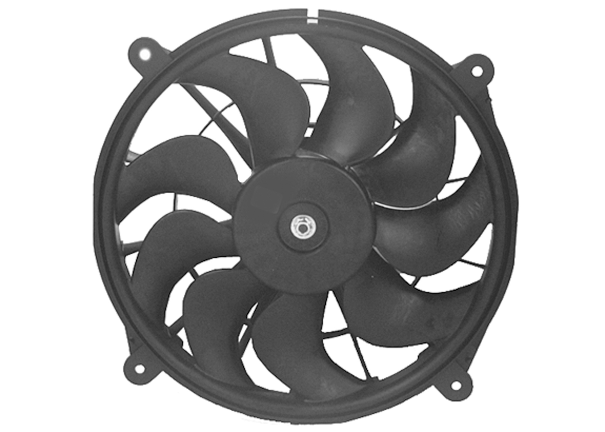 ACDELCO OE SERVICE - Engine Electric Cool Fan Kit - DCB 15-8677