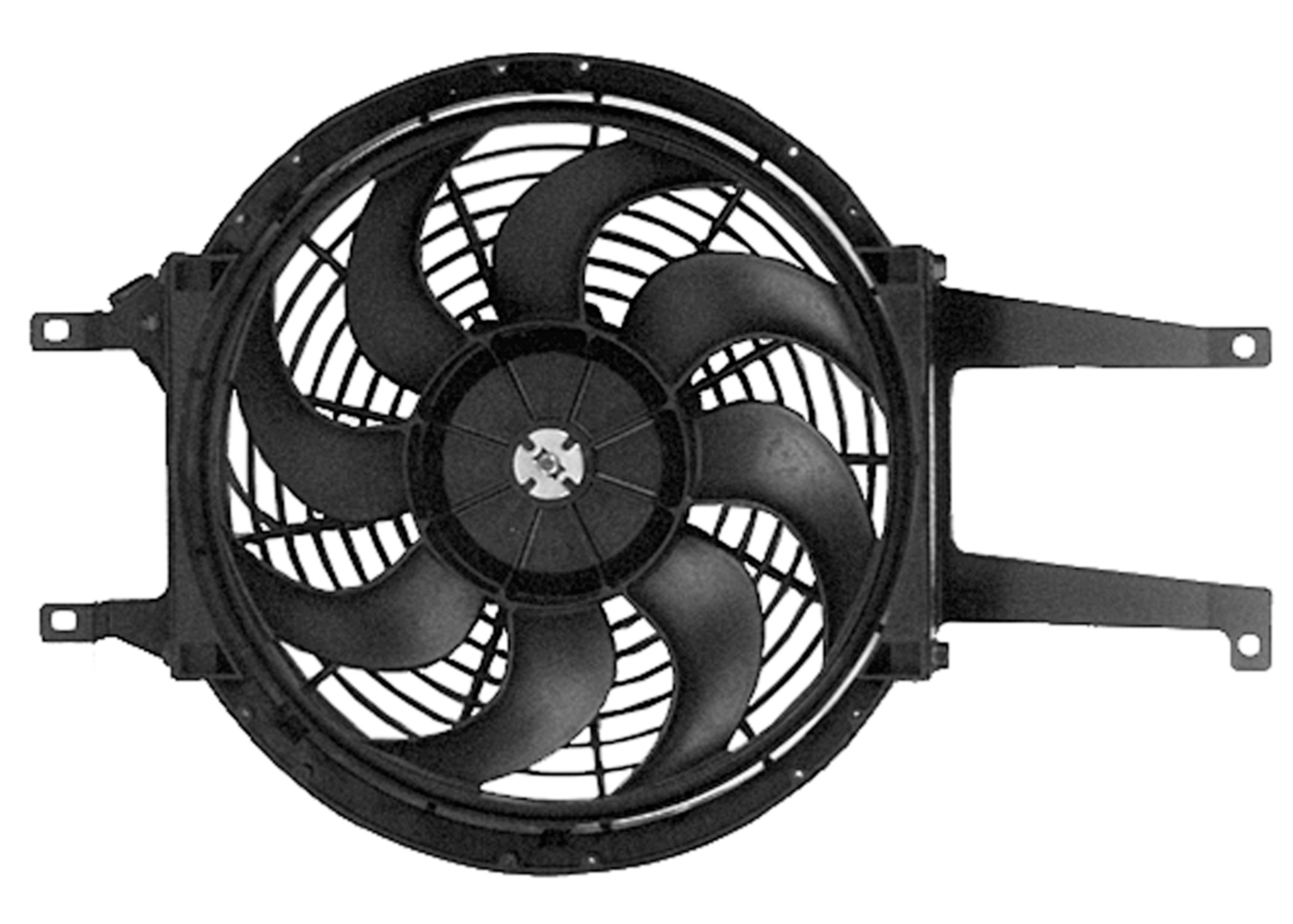 ACDELCO OE SERVICE - Aux Engine Cool Fan - DCB 15-8686