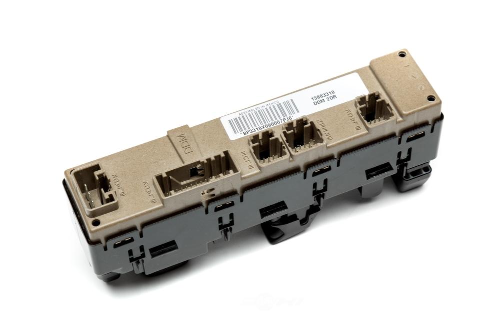 ACDELCO GM ORIGINAL EQUIPMENT - Door Lock and Window Switch - DCB 15883318