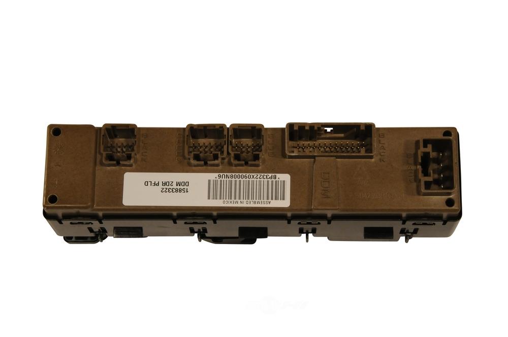 ACDELCO GM ORIGINAL EQUIPMENT - Door Lock and Window Switch - DCB 15883322