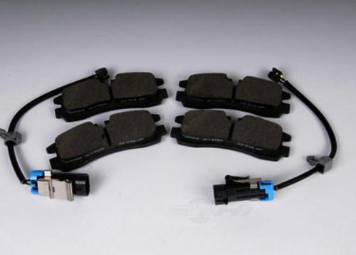 ACDELCO GM ORIGINAL EQUIPMENT - Disc Brake Pad Set (Rear) - DCB 171-0980