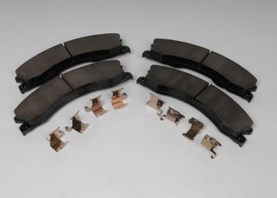 ACDELCO GM ORIGINAL EQUIPMENT CANADA - Disc Brake Pad Set (Rear) - DCG 171-1032