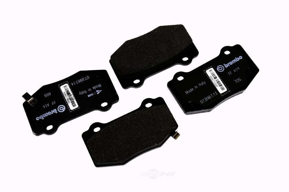 ACDELCO GM ORIGINAL EQUIPMENT - Disc Brake Pad Set (Rear) - DCB 171-1127