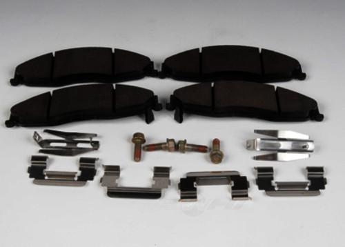ACDELCO GM ORIGINAL EQUIPMENT - Disc Brake Pad Set (Front) - DCB 171-631
