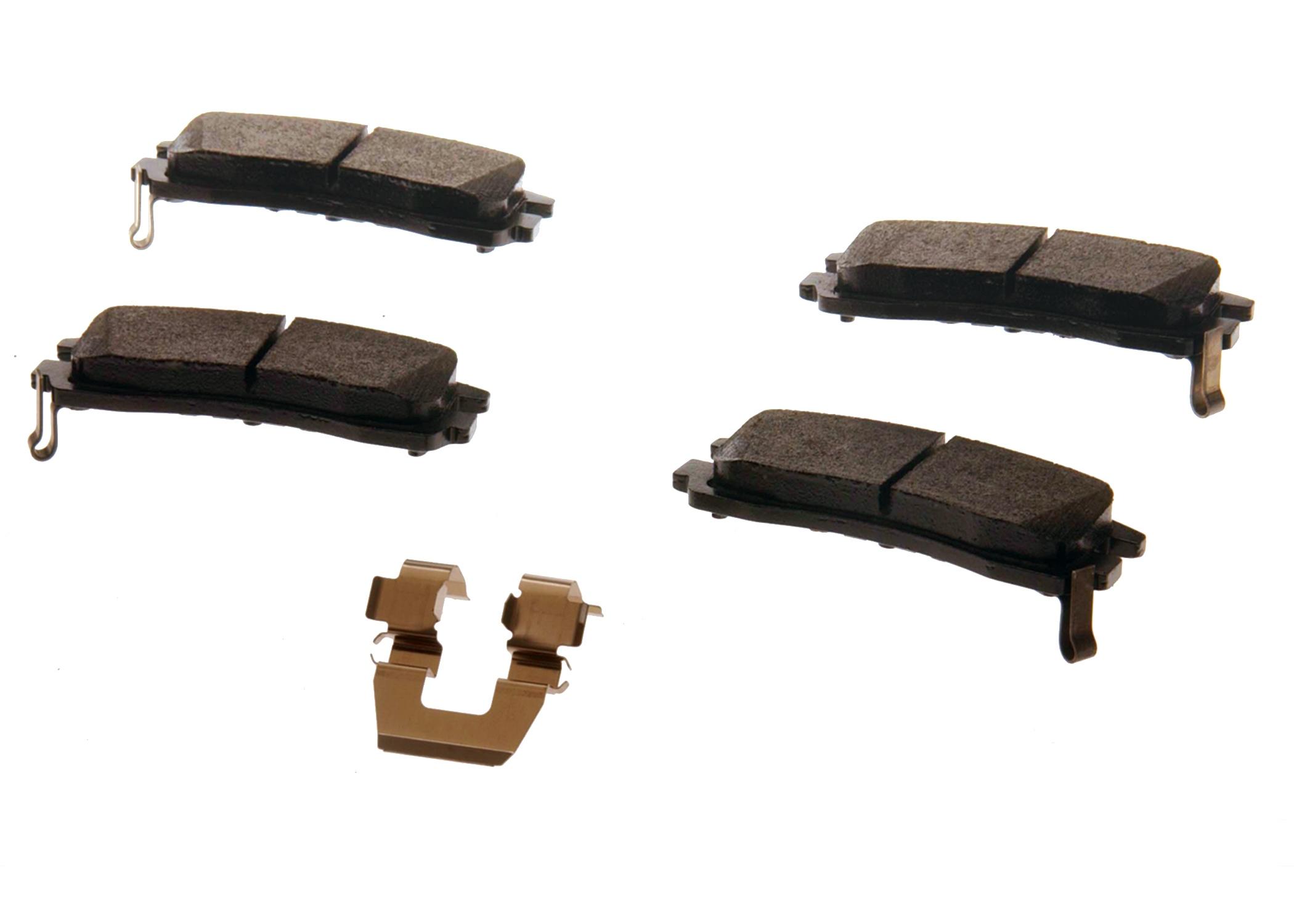 ACDELCO GM ORIGINAL EQUIPMENT - Disc Brake Pad Set (Rear) - DCB 171-642