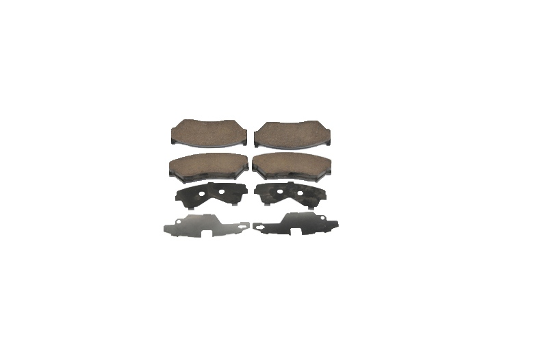 ACDELCO GM ORIGINAL EQUIPMENT - Disc Brake Pad Set (Front) - DCB 171-807