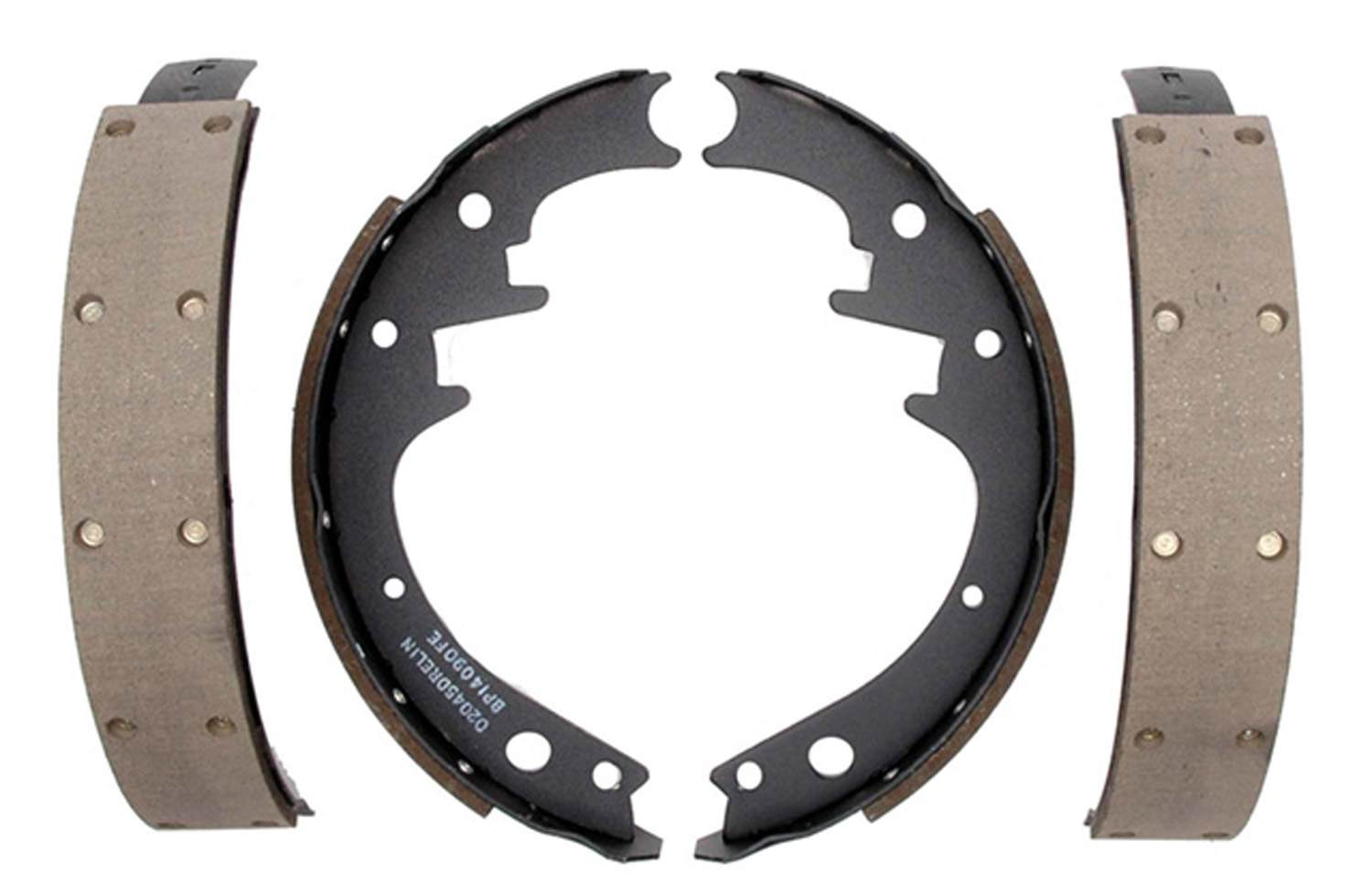 ACDELCO PROFESSIONAL BRAKES - Riveted Drum Brake Shoe (Rear) - ADU 17151R