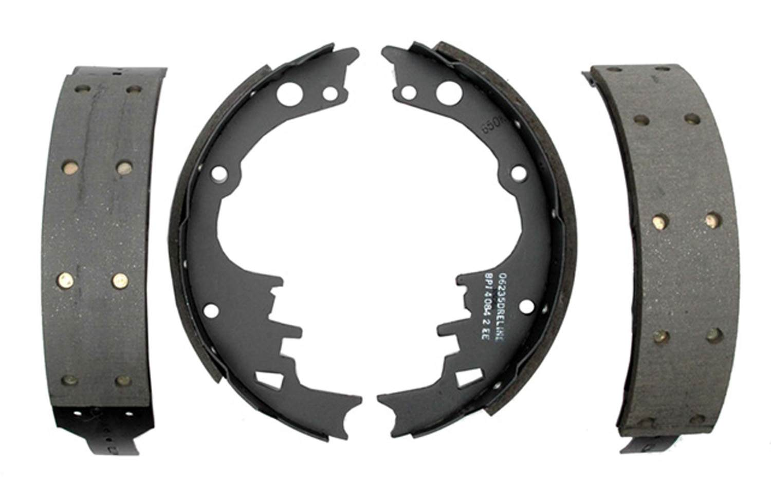 ACDELCO PROFESSIONAL BRAKES - Riveted Drum Brake Shoe - ADU 17242R