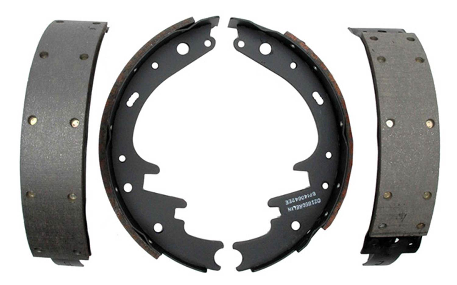 ACDELCO PROFESSIONAL BRAKES - Riveted Drum Brake Shoe - ADU 17263R