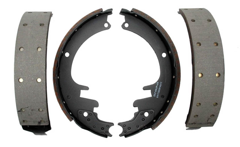 ACDELCO PROFESSIONAL BRAKES - Riveted Drum Brake Shoe (Rear) - ADU 17451R