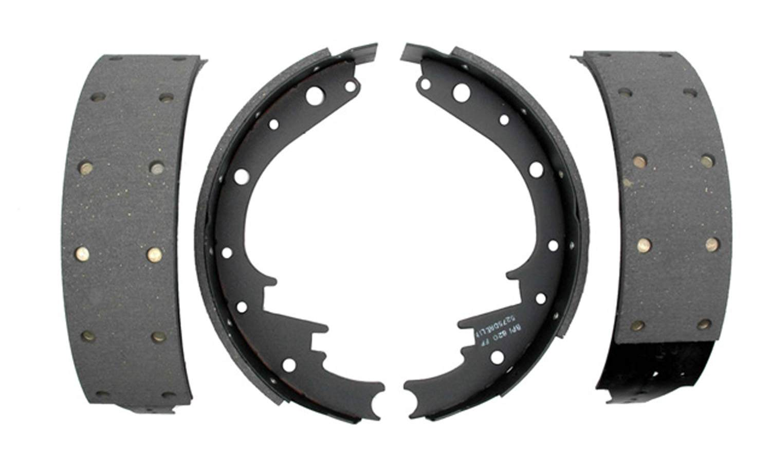 ACDELCO PROFESSIONAL BRAKES - Riveted Drum Brake Shoe - ADU 17473R