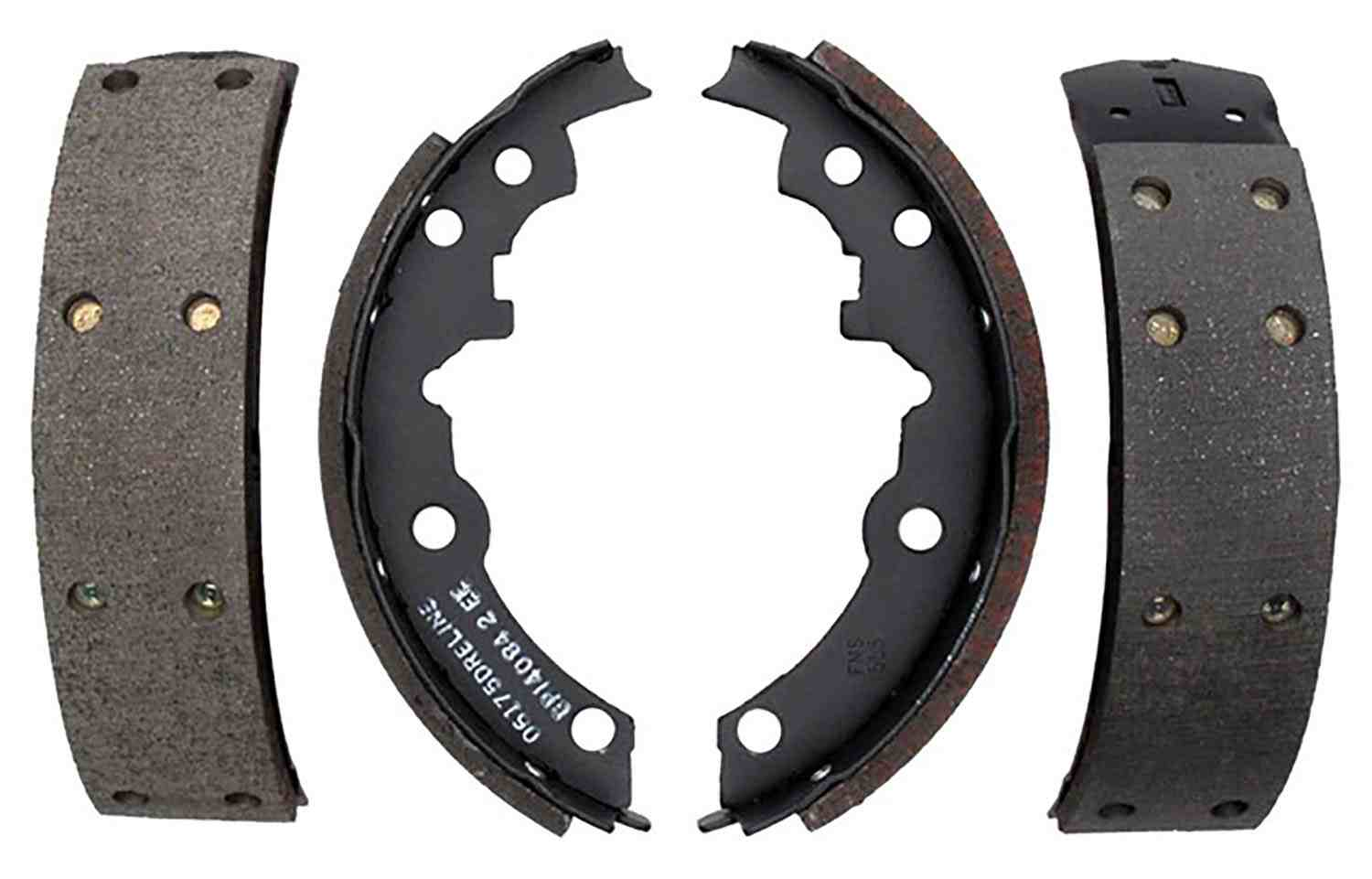 ACDELCO PROFESSIONAL BRAKES - Bonded Drum Brake Shoe (Rear) - ADU 17553B