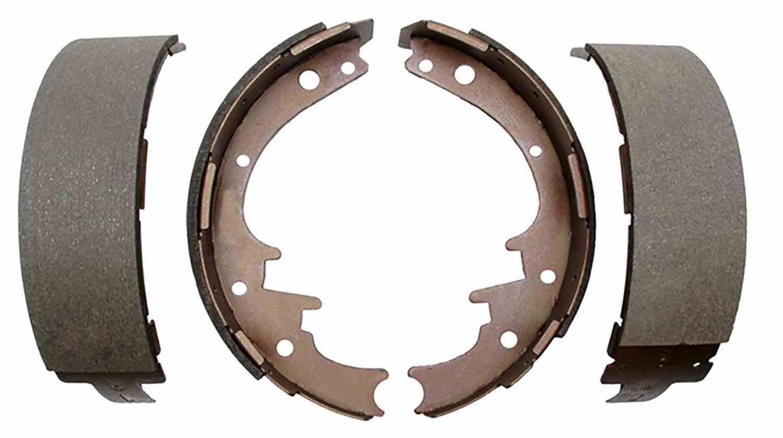 ACDELCO GOLD/PROFESSIONAL BRAKES - Bonded Drum Brake Shoe (Rear) - ADU 17581B