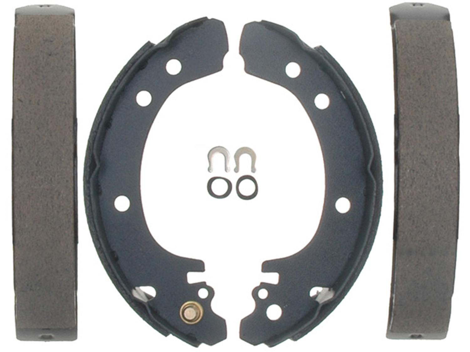 ACDELCO PROFESSIONAL BRAKES - Bonded Drum Brake Shoe (Rear) - ADU 17637B