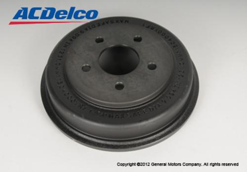 ACDELCO GM ORIGINAL EQUIPMENT - Brake Drum - DCB 177-0989
