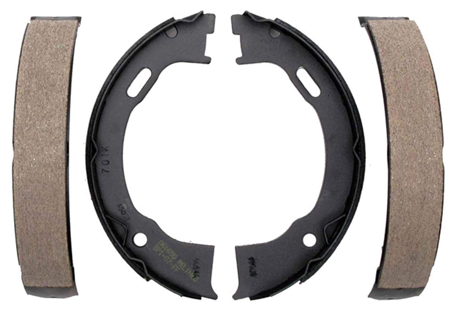 ACDELCO GOLD/PROFESSIONAL BRAKES - Bonded Parking Brake Shoe - ADU 17701B