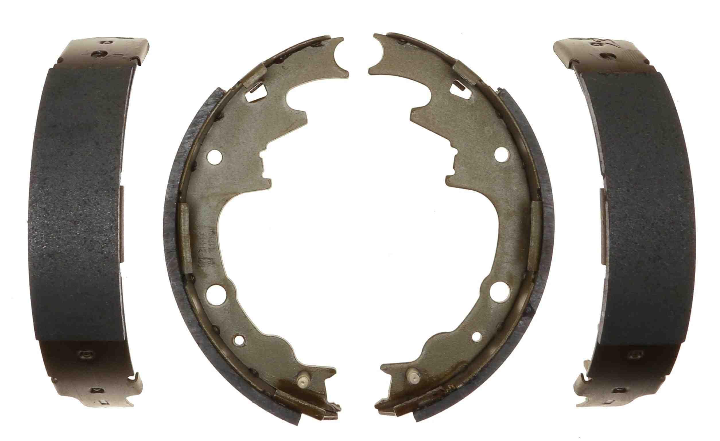 ACDELCO PROFESSIONAL BRAKES - Bonded Drum Brake Shoe (Rear) - ADU 17704B