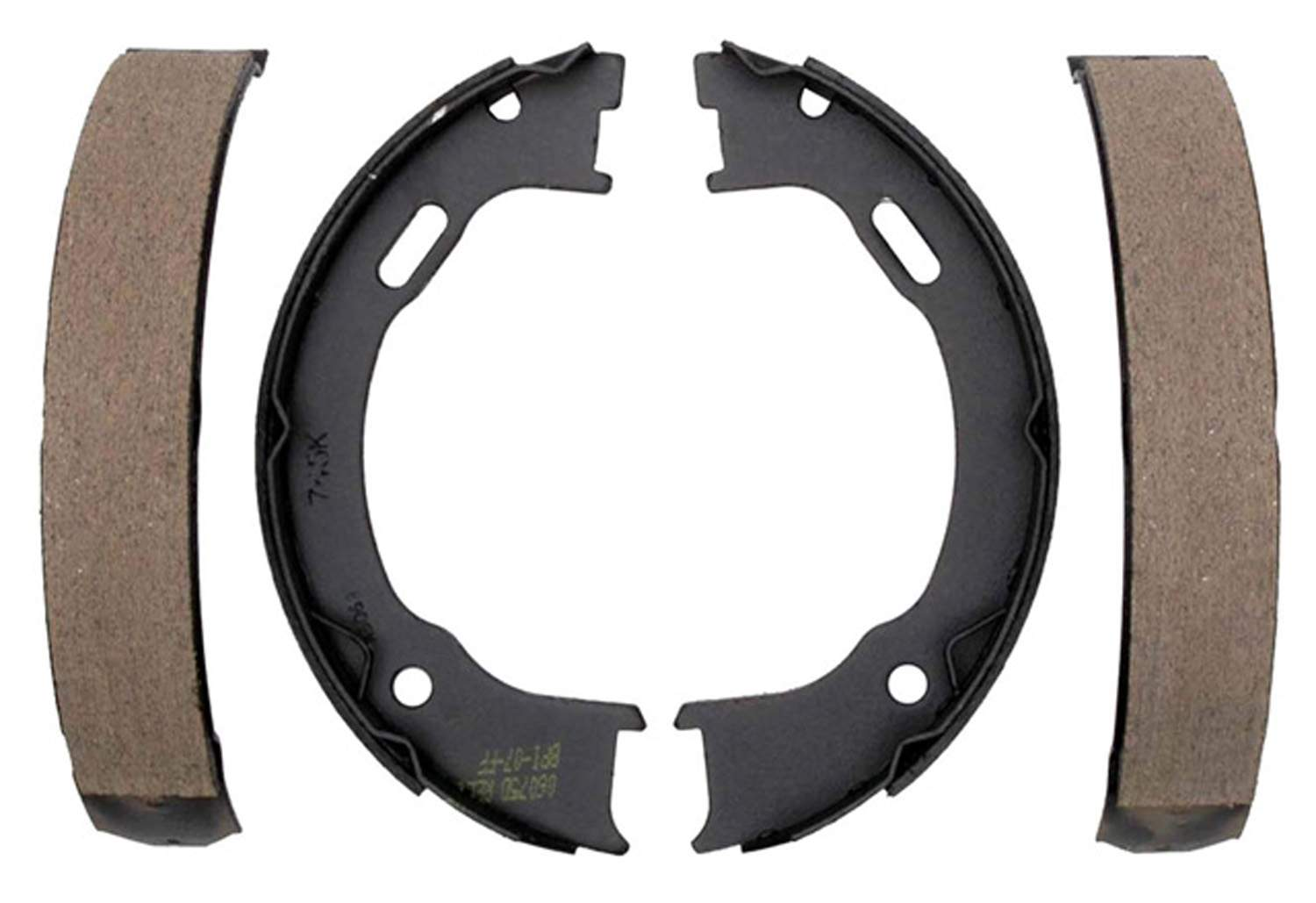 ACDELCO GOLD/PROFESSIONAL BRAKES - Bonded Parking Brake Shoe - ADU 17745B