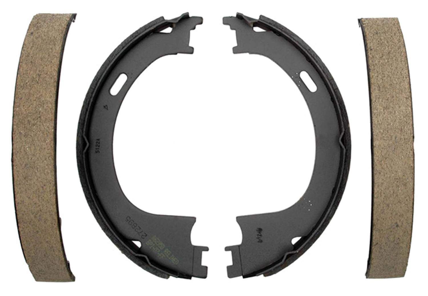 ACDELCO GOLD/PROFESSIONAL BRAKES - Bonded Parking Brake Shoe - ADU 17752B