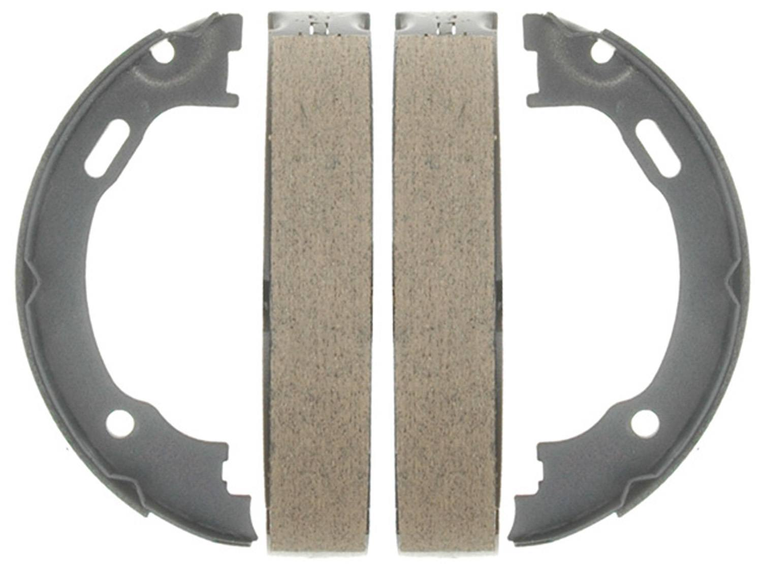 ACDELCO GOLD/PROFESSIONAL BRAKES - Bonded Parking Brake Shoe (Rear) - ADU 17777B