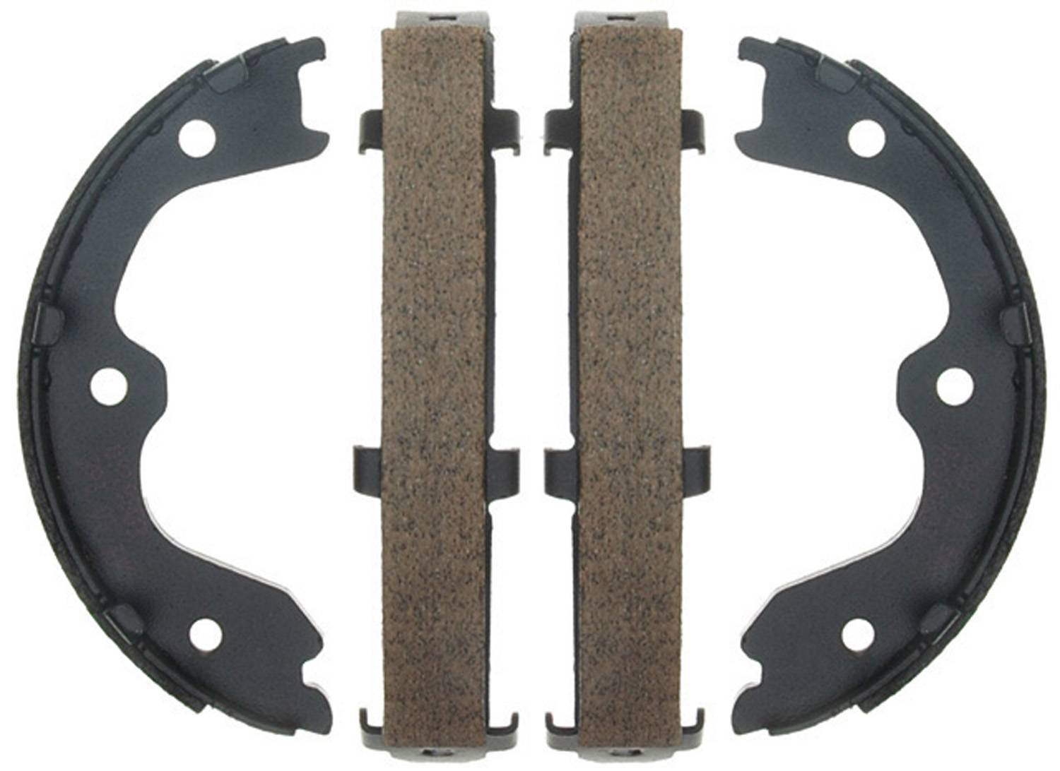 ACDELCO PROFESSIONAL BRAKES - Bonded Parking Brake Shoe (Rear) - ADU 17783B