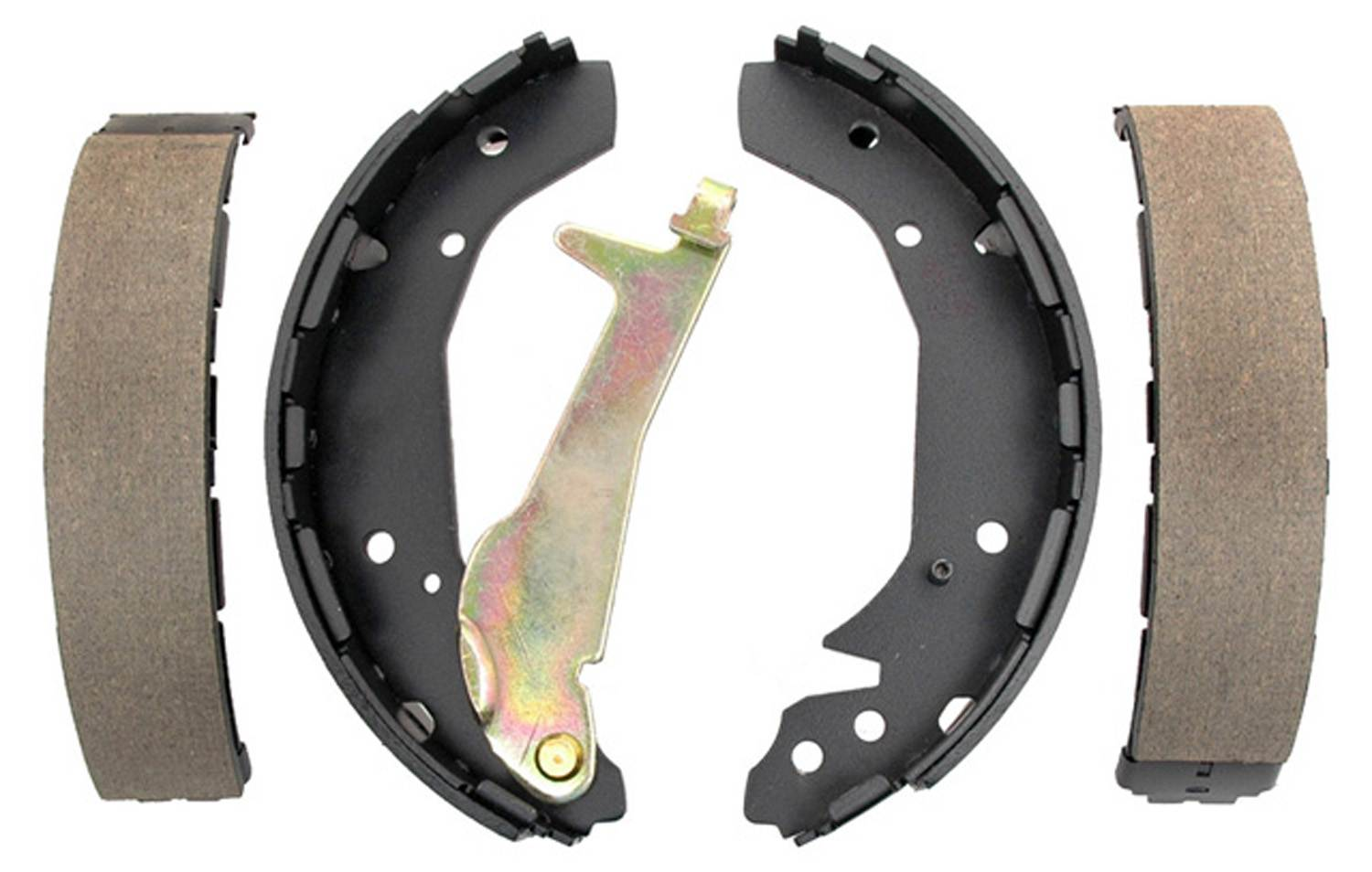 ACDELCO GOLD/PROFESSIONAL BRAKES - Bonded Drum Brake Shoe (Rear) - ADU 17800B