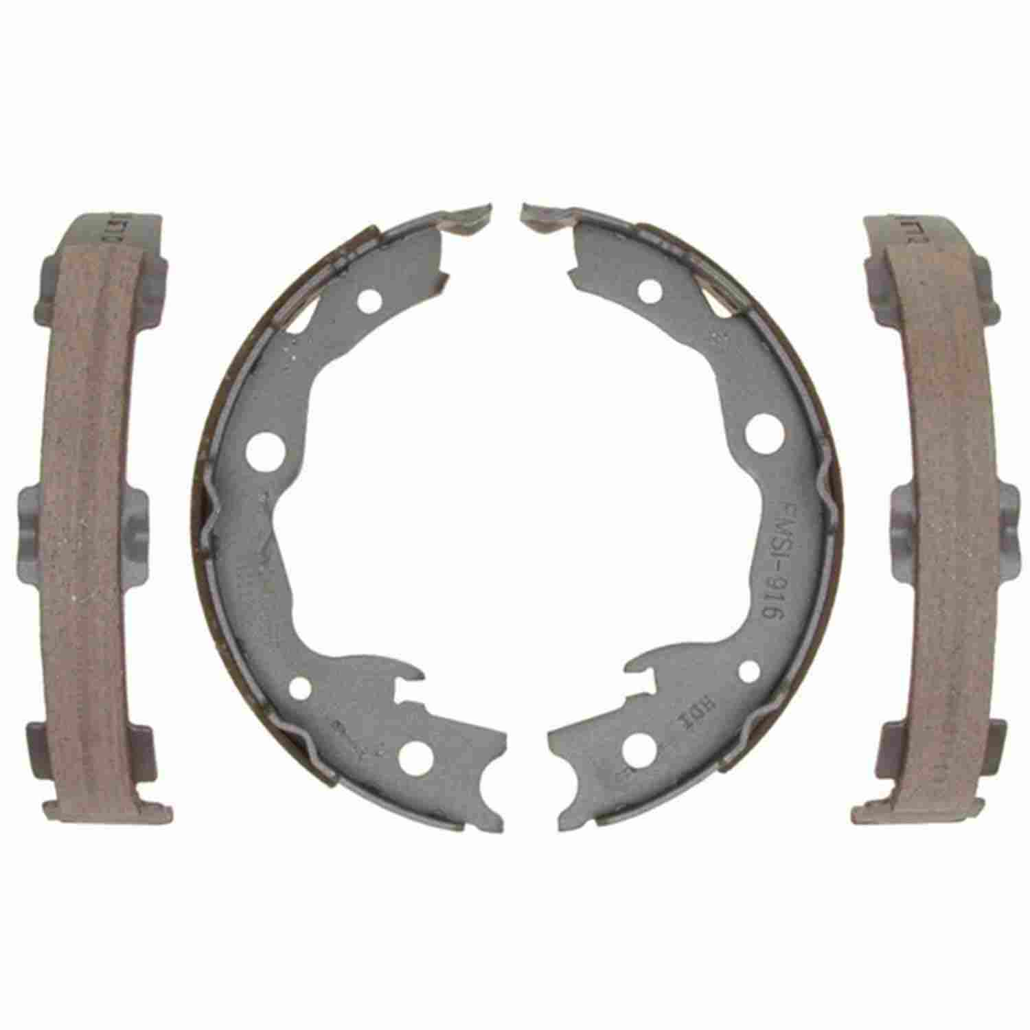 ACDELCO PROFESSIONAL BRAKES - Bonded Parking Brake Shoe (Rear) - ADU 17916B