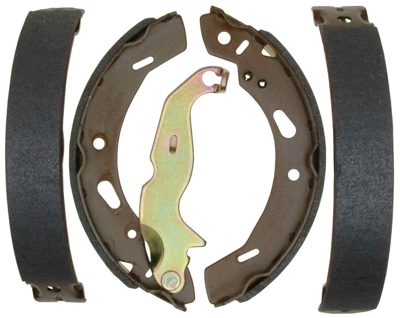 ACDELCO PROFESSIONAL BRAKES - Bonded Drum Brake Shoe (Rear) - ADU 17984B