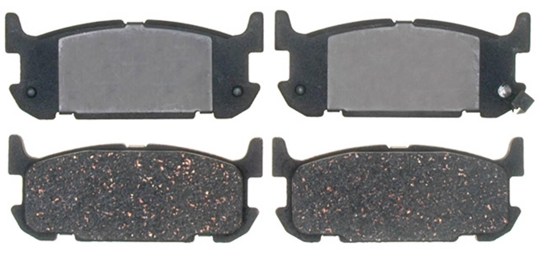 ACDELCO PROFESSIONAL BRAKES - Ceramic Disc Brake Pad - ADU 17D1002C