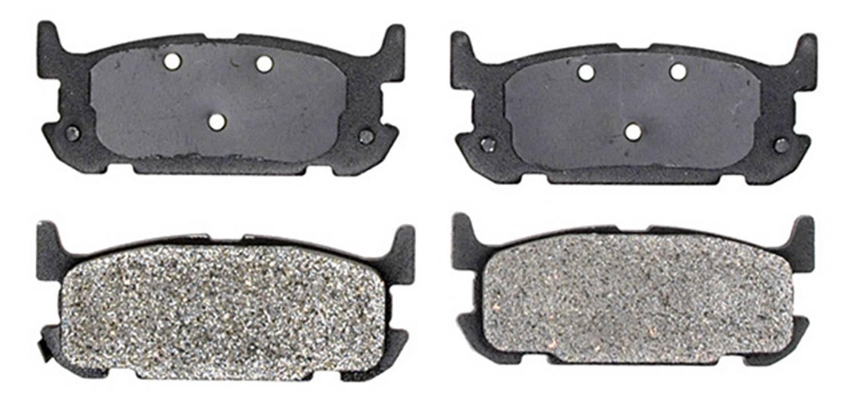 ACDELCO PROFESSIONAL BRAKES - Semi Metallic Disc Brake Pad - ADU 17D1002M