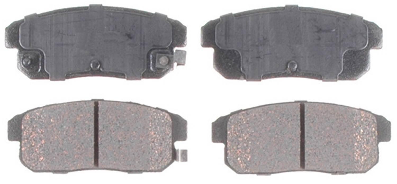 ACDELCO GOLD/PROFESSIONAL BRAKES - Ceramic Disc Brake Pad - ADU 17D1008C