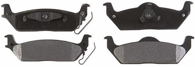 ACDELCO PROFESSIONAL BRAKES - Semi Metallic Disc Brake Pad - ADU 17D1012M