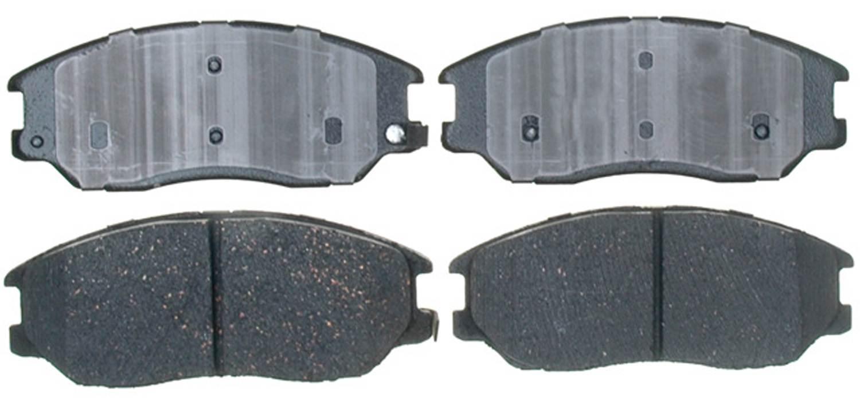 ACDELCO PROFESSIONAL BRAKES - Ceramic Disc Brake Pad - ADU 17D1013C