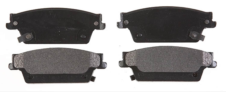 ACDELCO PROFESSIONAL BRAKES - Semi Metallic Disc Brake Pad (Rear) - ADU 17D1020AM