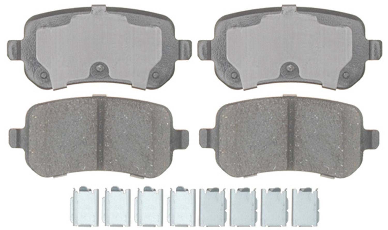 ACDELCO PROFESSIONAL BRAKES - Ceramic Disc Brake Pad - ADU 17D1021CH