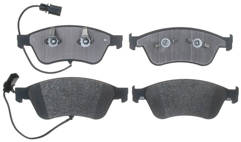 ACDELCO PROFESSIONAL BRAKES - Semi Metallic Disc Brake Pad - ADU 17D1024M