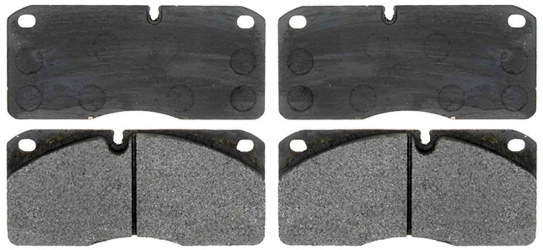 ACDELCO PROFESSIONAL BRAKES - Semi Metallic - ADU 17D1027M